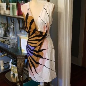 Diane Von Furstenberg Silk Dress Sz.4